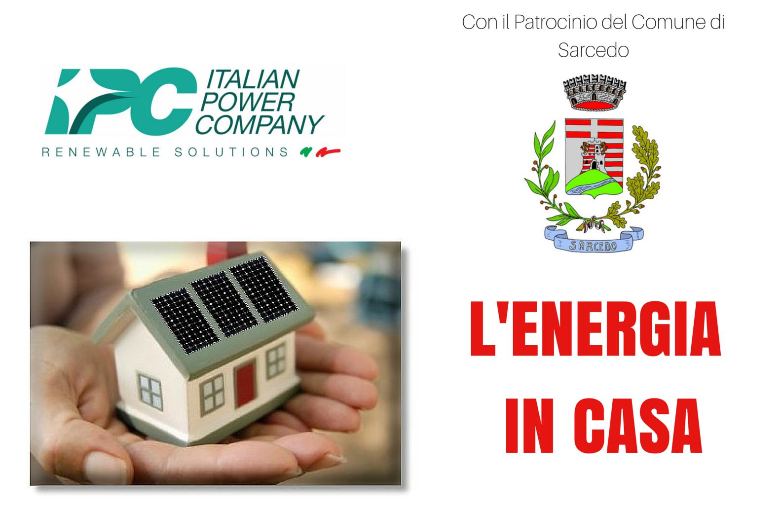 L'Energia in casa - efficienza energetica e risparmio